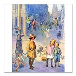THE FAIRY TALE BOOK _ 10x14 Square Car Magnet
