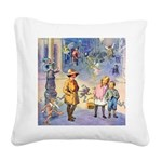 THE FAIRY TALE BOOK _ SQ Square Canvas Pillow