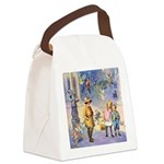 THE FAIRY TALE BOOK _ SQ Canvas Lunch Bag