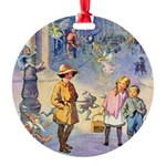 THE FAIRY TALE BOOK _ SQ Round Ornament