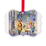 THE FAIRY TALE BOOK _ SQ Picture Ornament