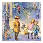 THE FAIRY TALE BOOK _ SQ Square Car Magnet 3