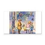 THE FAIRY TALE BOOK _ SQ Rectangle Car Magnet
