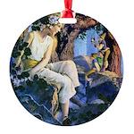 PARRISH GNOMES AND FAIRY PRINCESS_SQ Round Orn