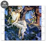 PARRISH GNOMES AND FAIRY PRINCESS_SQ Puzzle