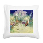 The Fairy Circus007_SQ Square Canvas Pillow