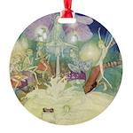 The Fairy Circus007_SQ Round Ornament