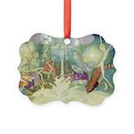 The Fairy Circus007_SQ Picture Ornament