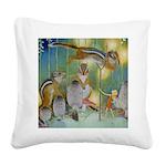 The Fairy Circus004_SQ Square Canvas Pillow
