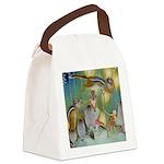 The Fairy Circus004_SQ Canvas Lunch Bag