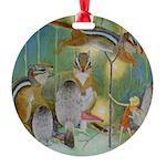 The Fairy Circus004_SQ Round Ornament