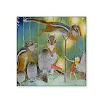 The Fairy Circus004_SQ Square Sticker 3