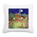 The Fairy Circus003_SQ Square Canvas Pillow