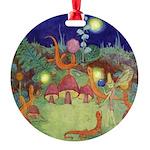 The Fairy Circus003_SQ Round Ornament