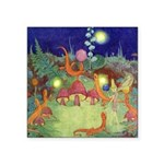 The Fairy Circus003_SQ Square Sticker 3