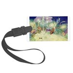The Fairy Circus007_10x14 Large Luggage Tag