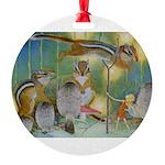 The Fairy Circus004_10x14 Round Ornament