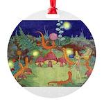 The Fairy Circus003_10x14 Round Ornament