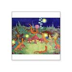 The Fairy Circus003_10x14 Square Sticker 3