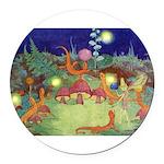 The Fairy Circus003_10x14 Round Car Magnet