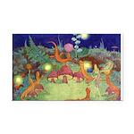 The Fairy Circus003_10x14 Rectangle Car Magnet
