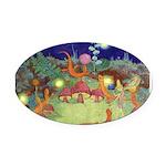 The Fairy Circus003_10x14 Oval Car Magnet