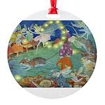 The Fairy Circus002_10x14 Round Ornament
