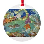 The Fairy Circus002_10x14 Round Ornament