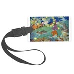 The Fairy Circus002_10x14 Large Luggage Tag