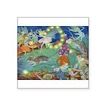 The Fairy Circus002_10x14 Square Sticker 3