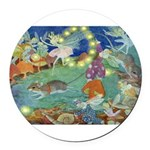 The Fairy Circus002_10x14 Round Car Magnet