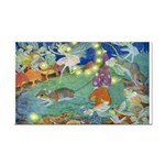 The Fairy Circus002_10x14 Rectangle Car Magnet