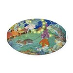 The Fairy Circus002_10x14 Oval Car Magnet