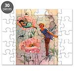 Little White Gate Fairy003 Puzzle