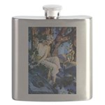 PARRISH GNOMES AND FAIRY PRINCESS_10x14 Flask