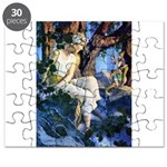 PARRISH GNOMES AND FAIRY PRINCESS_10x14 Puzzle