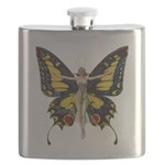 Leyendecker Butterfly_copy Flask
