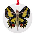 Leyendecker Butterfly_copy Round Ornament