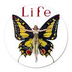 Leyendecker Butterfly_MASTER copy Round Car Ma
