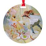 In Wheelabout Cockalone004_SQ Round Ornament