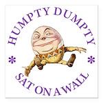 ALICE_HUMPTY DUMPTY_PURPLE copy Square Car Mag