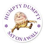 ALICE_HUMPTY DUMPTY_PURPLE copy Round Car Magn