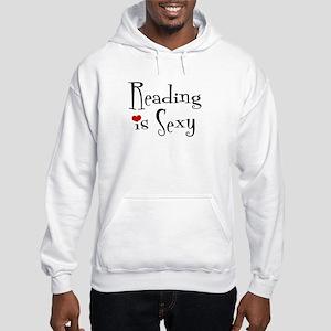 Reading is Sexy Hooded Sweatshirt