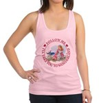ALICE_follow me MJ RED 2 copy Racerback Tank T