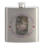 ALICE_DOWN THE RABBIT HOLE_PURPLE Flask