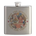 ALICE_FIRST THE SENTENCE_GOLD copy Flask
