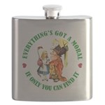 ALICE_everythings got a moral_GREEN copy Flask
