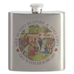 alice too thin_purple copy Flask