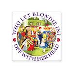 alice who let blondie_PURPLE copy Square Stick