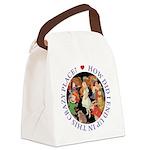ALICE_CRAZY_PURPLE copy Canvas Lunch Bag